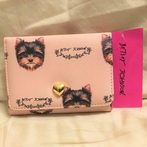 Betsey Johnson Yorkie Small Wallet.  So Cute!